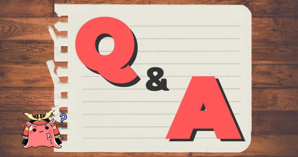 だこだのQ&A